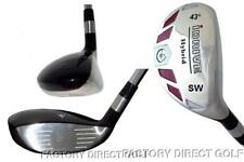 iDRIVE RESCUE Hybrid made Regular Flex taylor fit #SW Iron Wood 43° STEEL SHAFT