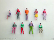 500 pcs Model Trains 1:50 Scale Painted Figures O