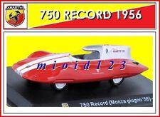 ABARTH COLLECTION : 1/43 - Fiat Abarth 750 Record (Monza giugno '56) - 1956