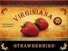 californien fraises aimant pour réfrigérateur Aimant 6 x 8 cm