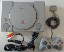 Gioco Game Console Play SONY Playstation 1 PSX - PS1 + Cavi + Joypad Dualshock 1