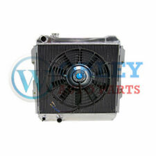 For TOYOTA HILUX RADIATOR & FAN LN85 LN60 LN61 LN65 2.4L DIESEL 84-91 3 ROW