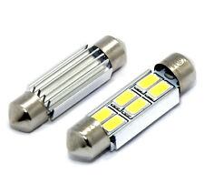 2x E-Zeichen Lampen 39mm mit 6-Samsung-SMD 6000K Weiß 3W TÜV FREI Canbus
