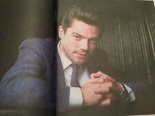 TIMES WEEKEND APRIL 2016 DOMINIC COOPER PHOTO INTERVIEW