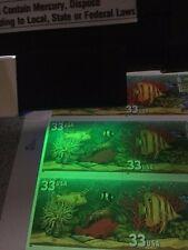 US 1999 Overall Tagging Aquarium Fish Sheet Scott 3317a 3320c Error NH USA Lot B