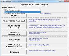 Service program for Epson SureColor F9200