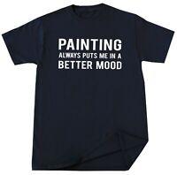 Painter T-shirt Funny Painter Painting Artist Art Lover Birthday Christmas Gift