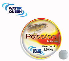 Nylon Water Queen Passion truite 0.22mm 4.200kg 150m