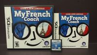 My French Coach -  Nintendo DS DS Lite 3DS 2DS Game Complete Tested Working