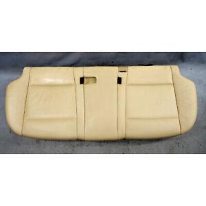 2007-2013 BMW E70 X5 SAV Rear 2nd Row Seat Bottom Bench Beige Leather OEM