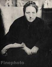 1913/66 Vintage GERTRUDE STEIN Literature ALVIN LANGDON COBURN Photo Art 11x14