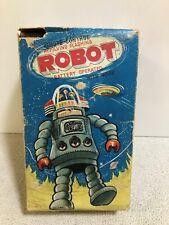 Tin toy Door Robot Alps Electric remote control Working W/original box Mega rare