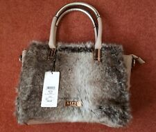 Lipsy Natural Faux Fur Tote Bag (was £55) BNWT Unused Ideal Gift