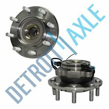 2 Front Wheel Bearing And Hub 07-10 Chevy Silverado GMC Sierra 3500HD  4x4 8-Lug