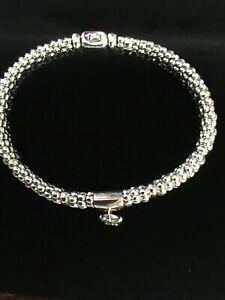 Lagos Beloved caviar bracelet, Rare! NWOT