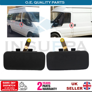 2X FRONT DOOR HANDLES OUTER FOR FORD TRANSIT MK6 MK7 2000-2014 LEFT AND RIGHT