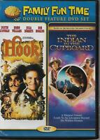 Indian In The Cupboard/Hook (DVD, 2010, 2-Disc Set) New