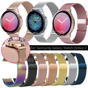 For Samsung Galaxy Watch Active 2/1 Replacement Stainless Steel Band Strap 20mm