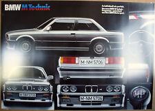 BMW E30 M3 Technic Motorsport M Power Racing Art Automobile Sport Car Poster