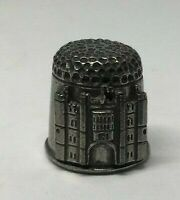 Collectable PEWTER Thimble HAMPTON COURT PALACE    (AA121)