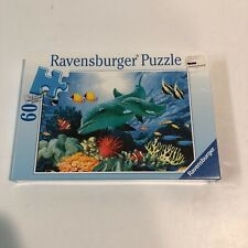 NEW Ravensburger Caribbean Smile 60 pc Dolphin PUZZLE Ocean Child Gift Ages 4+