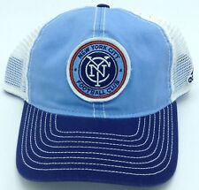 6f931971a0d MLS New York City FC Adidas Snap Back Mesh Back Cap Hat Beanie Style  EX57Z
