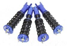 BLUE  Coilover Suspension fit93-97 Civic Del Sol 92-00 Civic 94-01 Acura Integra