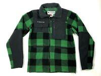 Columbia Titanium Sportswear Company Men's Size Small Jacket Green Black Lumber