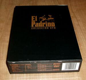 EL PADRINO TRILOGIA EDICION ESPECIAL 5 DVD NUEVO THRILLER ACCION R2