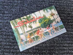 Schwinn 1973 Original Bicycle Sales Catalog~Brochure~Bikes-Paramount-Stingray 73