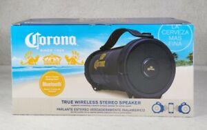 Corona Wireless Portable Speaker Man Caves Beach Pool Tailgates Parties Black