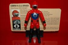 1983 Gijoe Cobra H.i.s.s. Tank Vehicle ( HISS Driver ) 100% W/ Filecard *Nr.Mint