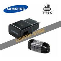#1 Cargador De Pared Casa Para Samsung Galaxy S9 S8 Plus Note 8 w/Cable