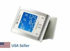 NEW Automatic Wrist Blood Pressure Monitor BP Cuff Heat Rate Meter Tester FDA