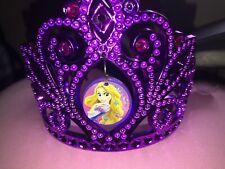 Disney Princess Tiara Crown Purple Kids Girls New Dress Up