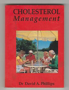 CHOLESTEROL MANAGEMENT DR David Phillips (Paperback, 1989) pocket size simple