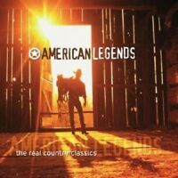 AMERICAN LEGENDS-THE REAL COUNTRY CLASSICS 2 CD NEW!