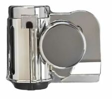 """One """"Bad Boy"""" Motorcycle Chrome Dual Tone Air Horn - Wolo Model# 519"""