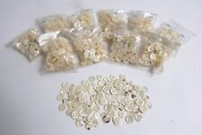1000 Vintage French Mother-of-Pearl Buttons