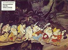 Disney Snow White and the Seven Dwarfs German lobby card AHF 70s Frank Thomas