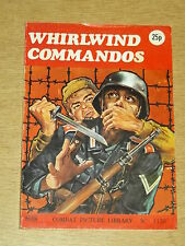 COMBAT PICTURE LIBRARY #1120 BRITISH POCKET WAR COMIC WHIRLWIND COMMANDOS