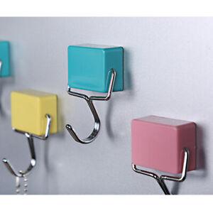 Starker Kühlschrankmagnet Haken Schlüssel Rack Halter Magnetisch Drehbar Küche
