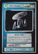 Star Trek CCG Reflections Enterprise Defiant Picard Borg Queen Foils UR GEM MINT
