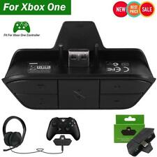 Stereo Audio Gaming Headset Adapter Converter for Xbox One Game Controller 3.5mm