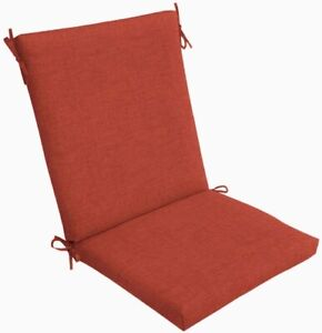 Outdoor Dining Chair Cushion ~ Amber Leala Texture ~ 20 x 43.5 x 3.75 NEW