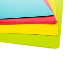 Cutting Flexible Mats Silicone Chopping Board Boards Food Kitchen 2018 4PCS/set