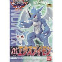 Digimon Adventure02 01 XV-mon Plastic Model Japan