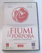 I FIUMI DI PORPORA Les Rivières Pourpres (2000) DVD ORIGINALE USATO