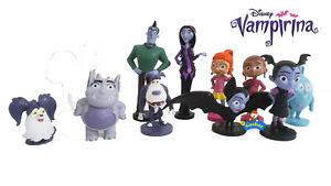 New Disney JUNIOR VAMPIRINA Cake Toppers / 10 Figures