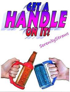 Instant HANDLE for Pop/Beer CANS & BEER BOTTLES!